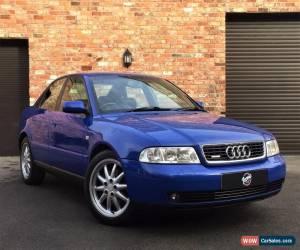 Classic 2000 Audi B5 A4 1.8 Turbo Quattro Sport (TQS) Saloon, Nogaro Blue, Not S4, RS4 for Sale