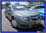 2009 Holden Cruze JG CD Grey Automatic 6sp A Sedan for Sale