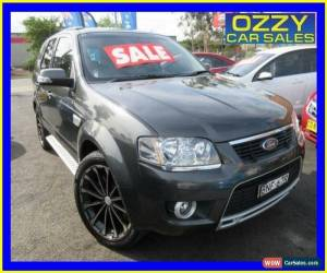 Classic 2010 Ford Territory SY Mkii Ghia (4x4) Grey Automatic 6sp A Wagon for Sale