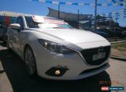 2014 Mazda 3 BM SP25 Pearl White Automatic 6sp A Hatchback for Sale