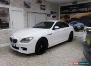 BMW 6 SERIES 640D M SPORT White Auto Diesel, 2013  for Sale
