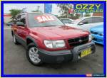 1998 Subaru Forester GX Maroon Manual 5sp M Wagon for Sale