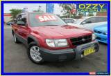 Classic 1998 Subaru Forester GX Maroon Manual 5sp M Wagon for Sale