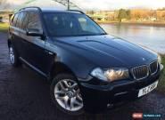 2007 03 BMW X3 2.0 D M SPORT 5D 148 BHP DIESEL for Sale