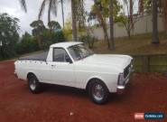 1970 ford falcon utility 6cyl manual for Sale