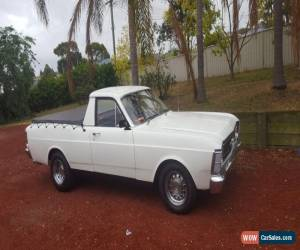 Classic 1970 ford falcon utility 6cyl manual for Sale