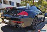 Classic BMW 650i M-Sport Coupe V8 270kw for Sale