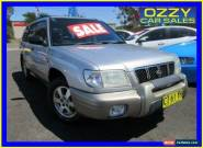 2001 Subaru Forester MY01 Limited Silver Manual 5sp M Wagon for Sale