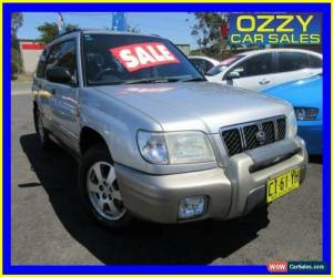 Classic 2001 Subaru Forester MY01 Limited Silver Manual 5sp M Wagon for Sale