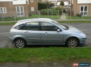 2004 FORD FOCUS 2.0 GHIA BLUE 5DR for Sale