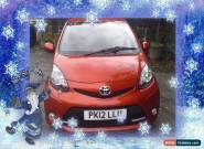 TOYOTA AYGO FIRE Orange Manual Petrol, 2012  for Sale