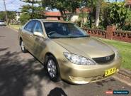 2004 GOLD TOYOTA CAMRY ALTISE AUTOMATIC LOW KMS IN EXCELLENT CONDITION for Sale