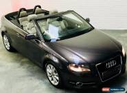 Audi A3 Sport Cabriolet Convertible 2.0 TDi 140 Manual Diesel Grey 2011 for Sale