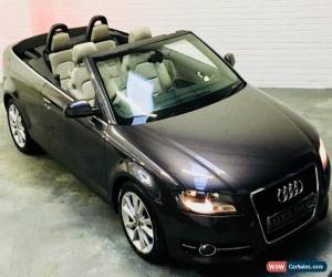Classic Audi A3 Sport Cabriolet Convertible 2.0 TDi 140 Manual Diesel Grey 2011 for Sale