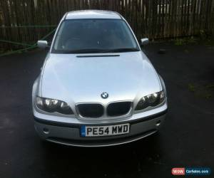 """Classic L@@K 2004 BMW 320D SE SILVER. """"54"""" REG.SPARES OR REPAIRS.NON RUNNER.FINANCE REPO for Sale"""