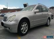 MERCEDES C200 KOMPRESSOR 2001 S203 Avantgarde Wagon 5dr SA 5sp 2.0SC 209,048 km for Sale