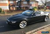 Classic BMW 645CI CONVERTIBLE BLACK FULL SERVICE HISTORY  for Sale