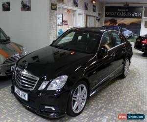 Classic MERCEDES E CLASS E350 CDI BLUEEFFICIENCY SPORT Black Auto Diesel, 2010  for Sale