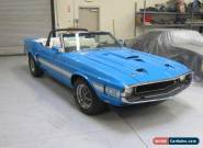 1970 Ford Mustang GT  500 for Sale