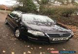 Classic 2007 volkswagen passat estate 2.0 tdi 6 speed manual black diesel for Sale