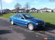 BMW 325CI COUPE SE BLUE ONLY 103000 F/S/H NO RESERVE for Sale
