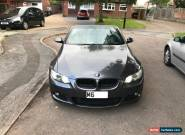 BMW  3 SERIES 320I M SPORT AUTOMATIC HEATED ELECTRIC LEATHER CONVERTIBLE E93 for Sale