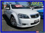 2012 Holden Caprice WM II MY12 V White Automatic 6sp A Sedan for Sale