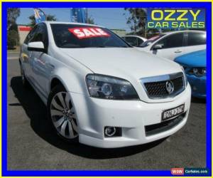 Classic 2012 Holden Caprice WM II MY12 V White Automatic 6sp A Sedan for Sale