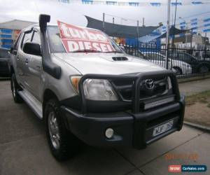 Classic 2008 Toyota Hilux KUN26R 08 Upgrade SR (4x4) Champagne Manual 5sp M for Sale