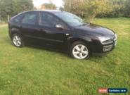 2007 FORD FOCUS ZETEC CLIMATE BLACK for Sale