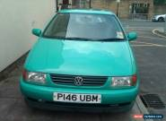 1997 VOLKSWAGEN POLO 1.6 GL GREEN for Sale