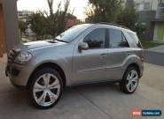 Mercedes ML 350 4x4 2005 NO RESERVE 12 MONTHS REGO similar to bmw x5 audi hsv for Sale