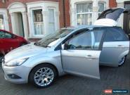 2008 FORD FOCUS ZETEC 100 SILVER LOW MILEAGE , 12 MONTH MOT  for Sale