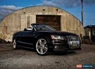 Audi: S5 Cabriolet for Sale