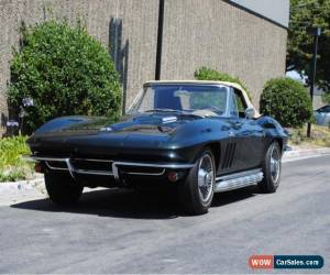 Classic 1965 Corvette Big Block Convertible for Sale
