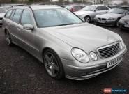 2005 55 MERCEDES-BENZ E CLASS 3.0 E280 CDI AVANTGARDE 5D AUTO 187 BHP DIESEL for Sale