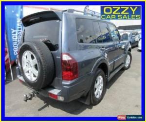 Classic 2005 Mitsubishi Pajero NP MY05 GLS Platinum Grey Automatic 5sp A Wagon for Sale