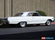 1963 - Chevrolet Impala for Sale