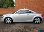 2001 Y AUDI TT 1.8 QUATTRO 3D 225 BHP  FULL BLACK LEATHER HEATED SEATS for Sale
