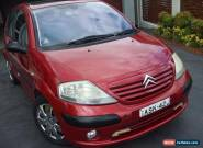 C3 Citroen 1.4 L  2005 Exclusive Red 4 Speed  Automatic Hatchback for Sale