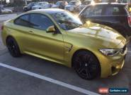 2014 BMW M4 F82 Auto for Sale