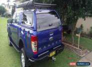 2016 Ford Ranger XLS PX MkII Manual 4x4 Double Cab for Sale