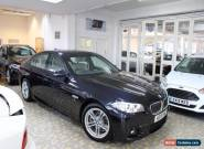 BMW 5 SERIES 520D M SPORT Black Auto Diesel, 2015  for Sale