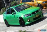 Classic 2008 Holden Commodore VE MY09.5 SS-V Atomic Manual 6sp M Sedan for Sale