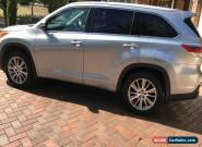 2015 - Toyota - Kluger - 65500 KM for Sale
