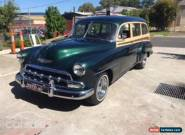 1952 Chevrolet Styleline Manual for Sale