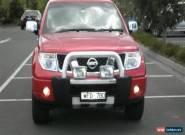 2008 Nissan Navara ST-X D40 Auto 4x4 for Sale