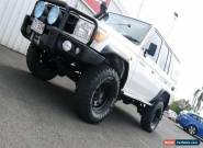 2008 Toyota Landcruiser Workmate Manual 4x4 for Sale