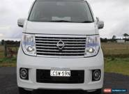 2010 Nissan Elgrand XL E51 Auto for Sale