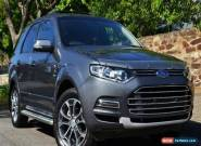 2011 Ford Territory Titanium SZ Auto AWD for Sale